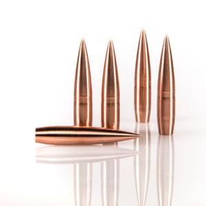 Warner Flat Line 7mm 151gr Copper Solid Bullet for Long Range Shooting